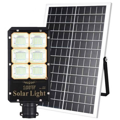 CEZ-100 Poste Energia Solar LED 150 Watts LED - 600 Watts Equivalente