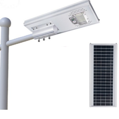 Poste Solar 50 Watts LED 350 Watts Equivalente