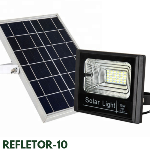 Refletor Solar 10 Watts LED  80 Watts Equivalente