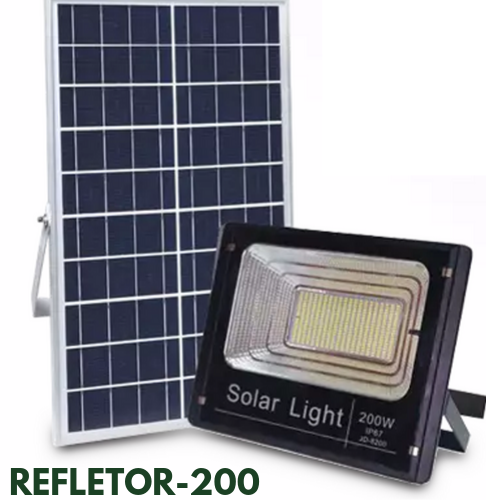 Refletor Solar 200 Watts LED 600 Watts Equivalente
