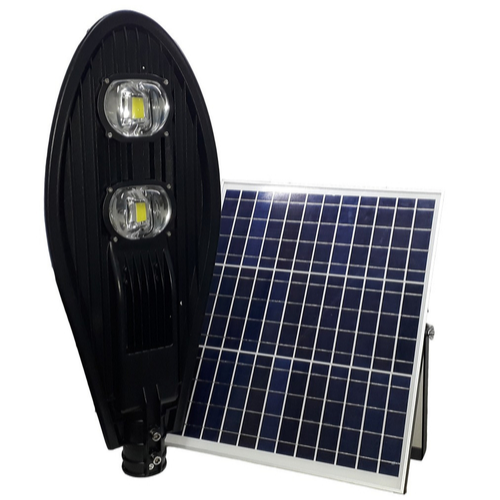 CEZ 65  Poste Energia Solar LED 100 Watts LED - 380 Watts Equivalente