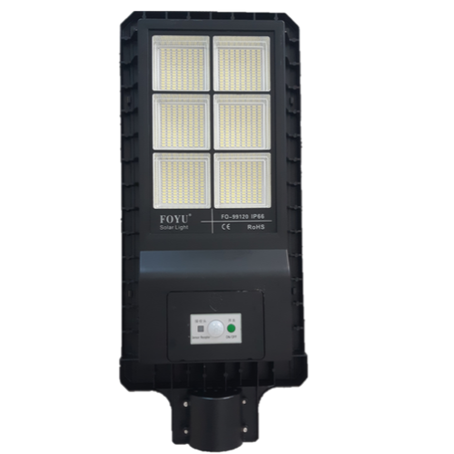 Poste Solar 120 Watts LED 550 Watts Equivalente