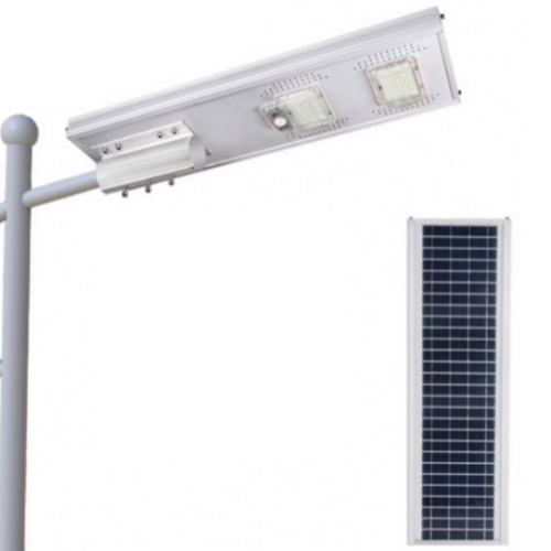 Poste Solar 100 Watts LED 500 Watts Equivalente