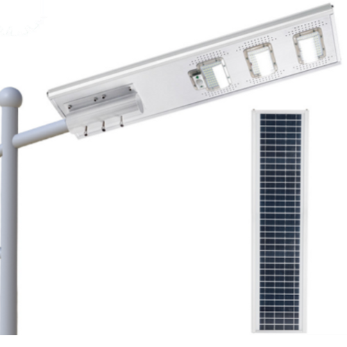 Poste Solar 150 Watts LED 700 Watts Equivalente