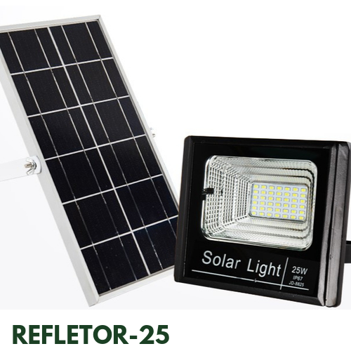 Refletor Solar 25 Watts LED 200 Watts Equivalente